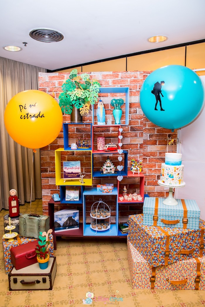 Sweet display from a Brazilian Road Trip Inspired Party on Kara's Party Ideas | KarasPartyIdeas.com (23)
