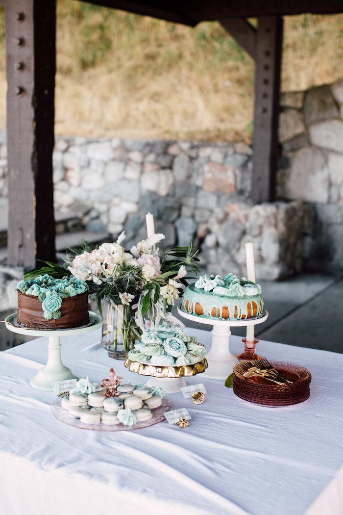 Kara S Party Ideas Coastal Vintage Romance Bridal Shower