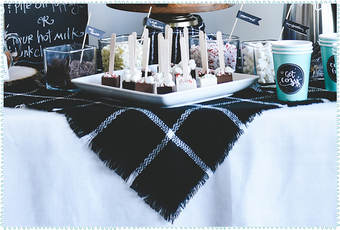 DIY Hot Chocolate Bar + FREE Printables on Kara's Party Ideas | KarasPartyIdeas.com (10)