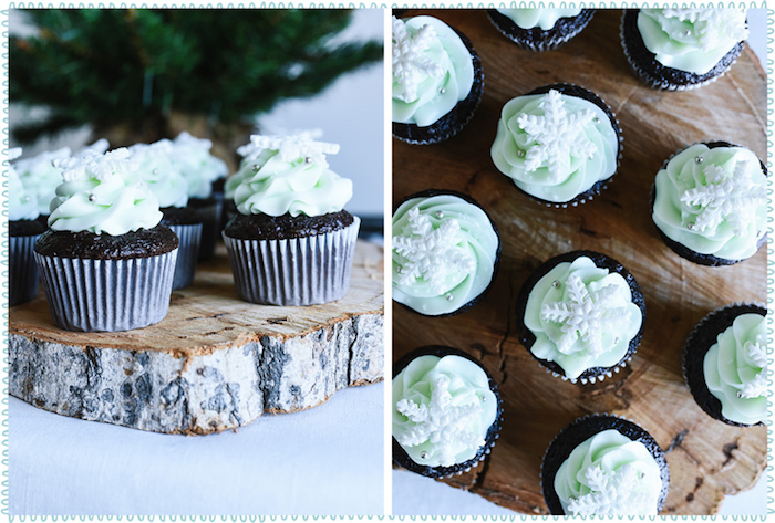Cupcakes from a DIY Hot Chocolate Bar + FREE Printables on Kara's Party Ideas | KarasPartyIdeas.com (6)