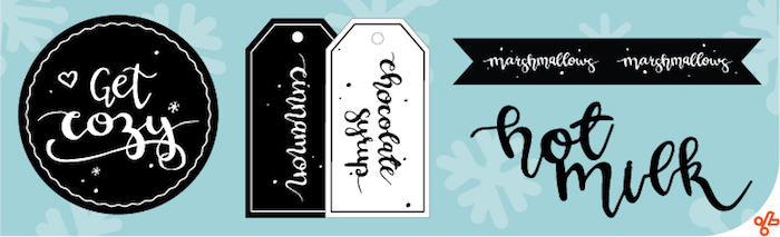 Tags from a DIY Hot Chocolate Bar + FREE Printables on Kara's Party Ideas | KarasPartyIdeas.com (4)