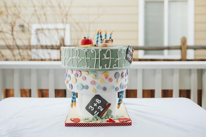 "Upside Down Cake from a Dr. Seuss Inspired ""Wacky Wednesday"" Birthday Party on Kara's Party Ideas | KarasPartyIdeas.com (7)"