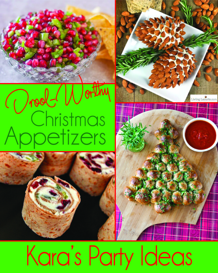 Drool-Worthy Christmas Appetizers from Kara's Party Ideas