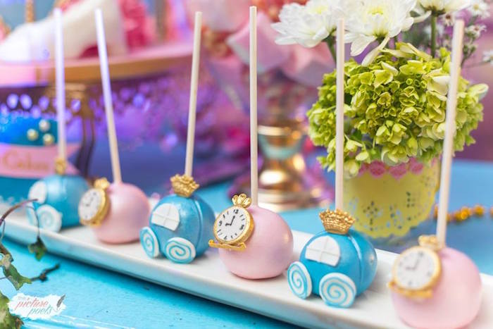 Cake Pops from a Garden Cinderella Birthday Party on Kara's Party Ideas | KarasPartyIdeas.com (8)