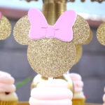 Glamorous Floral Minnie Mouse Birthday Party on Kara's Party Ideas | KarasPartyIdeas.com (1)