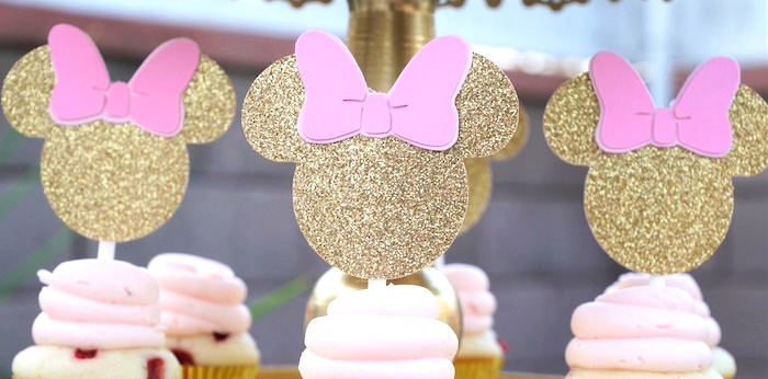 Glamorous Floral Minnie Mouse Birthday Party On Karas Ideas