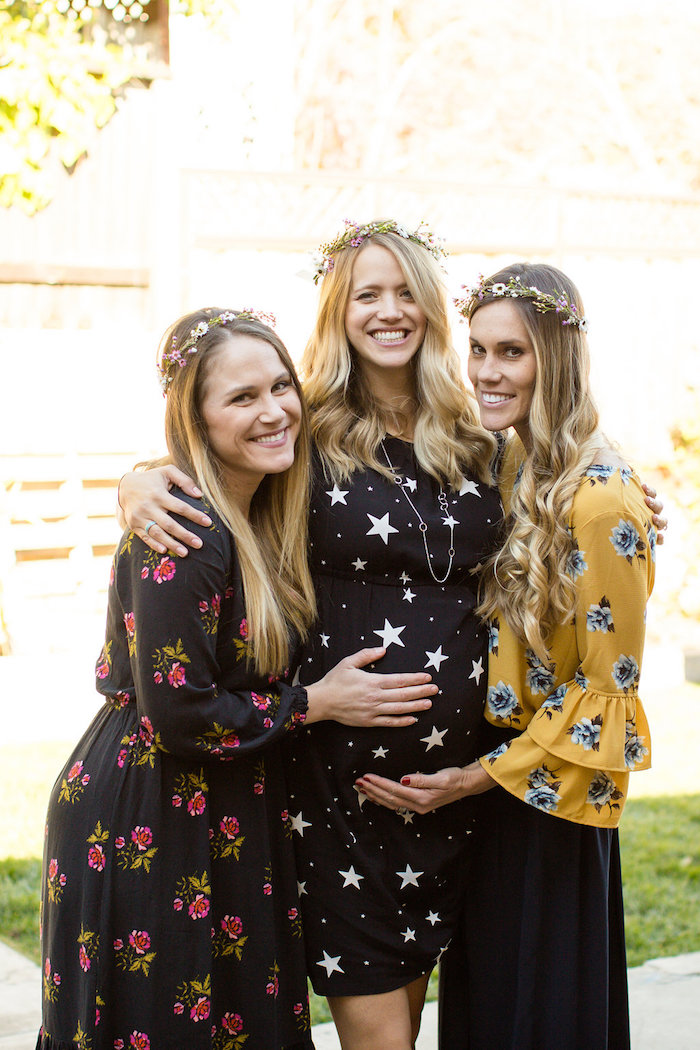 Holiday Boho Baby Shower on Kara's Party Ideas | KarasPartyIdeas.com (4)