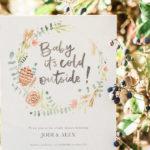 Holiday Boho Baby Shower on Kara's Party Ideas | KarasPartyIdeas.com (3)