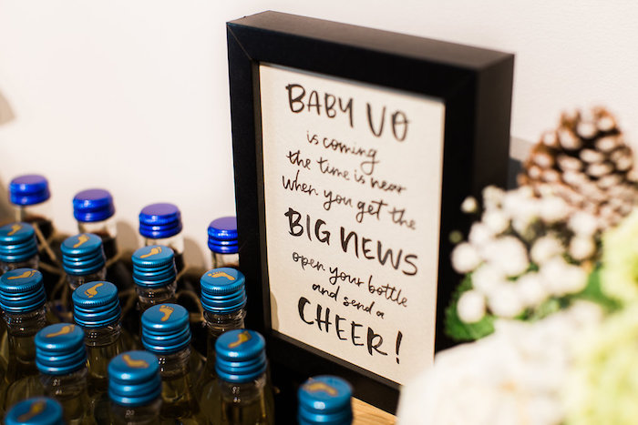 Signage from a Holiday Boho Baby Shower on Kara's Party Ideas | KarasPartyIdeas.com (20)