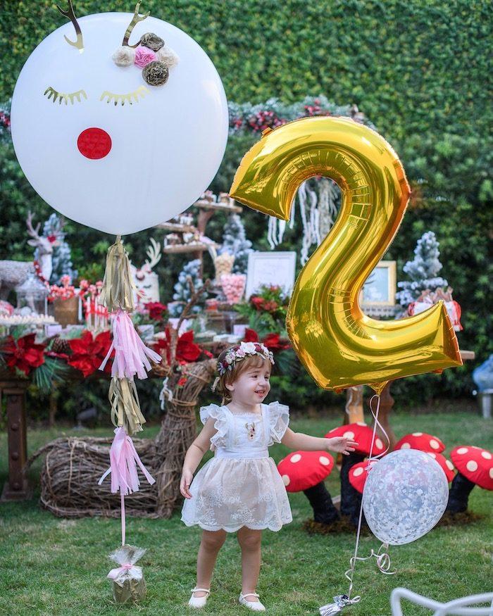 Kara's Party Ideas Woodland Holiday Birthday Party