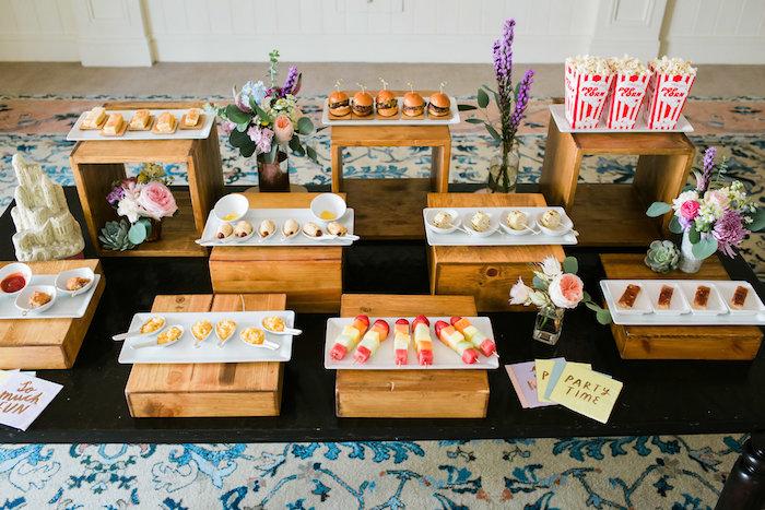 Sweet table from an Ice Cream Truck Birthday Party on Kara's Party Ideas | KarasPartyIdeas.com (3)