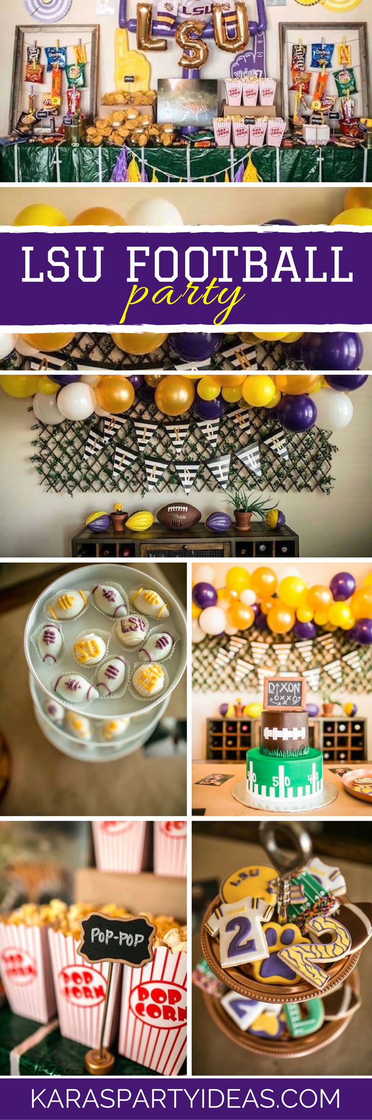 Kara's Party Ideas Lsu Football Party  Kara's Party Ideas. Dining Room Serving Table. Home Media Room. Target Dining Room Table. Discount Room Decor. Decorative Pillow Inserts Wholesale. Lamps For Girl Room. Home Decor Living Room. Shower Steam Room