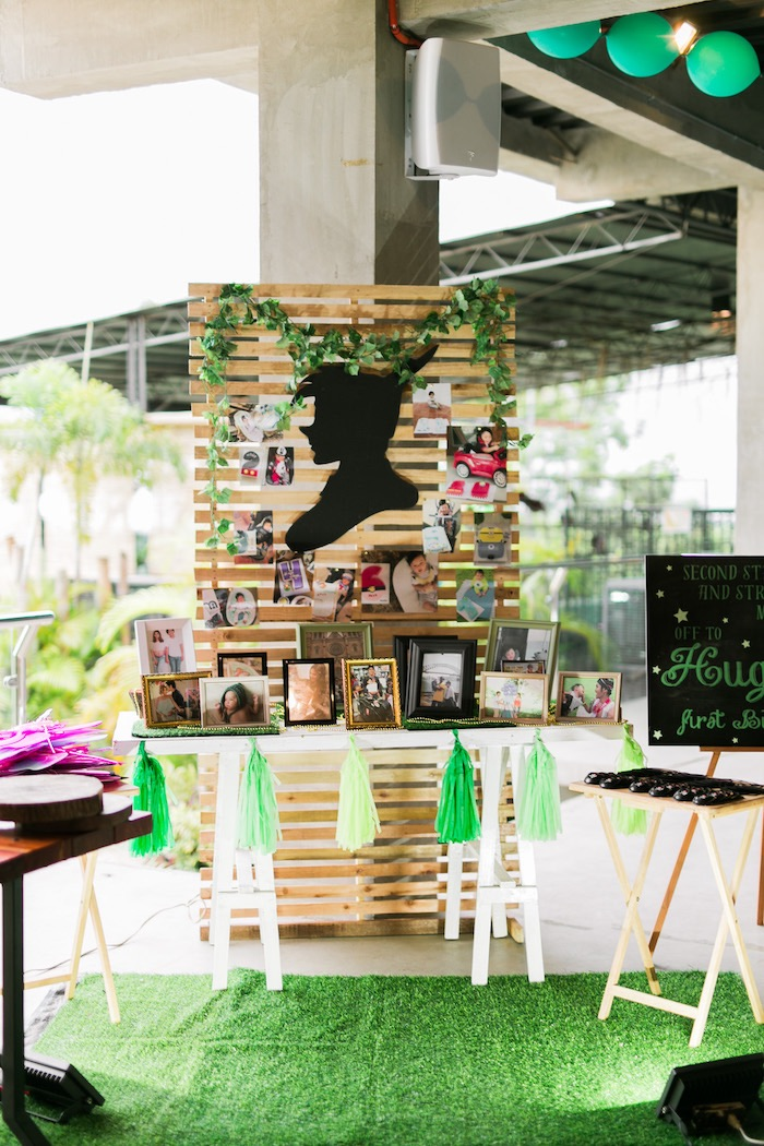Peter Pan Highlight Table from a Magical Neverland Birthday Party on Kara's Party Ideas | KarasPartyIdeas.com (13)