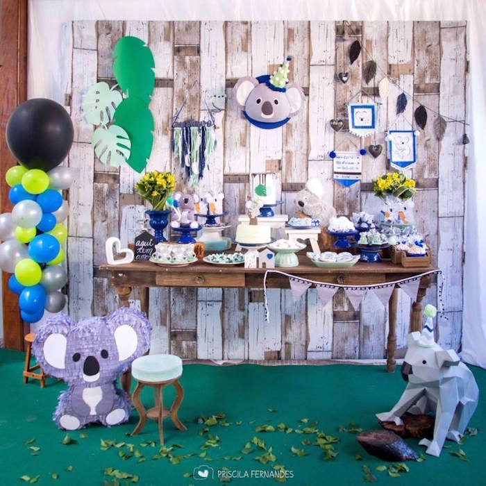 Modern Koala Baby Shower on Kara's Party Ideas | KarasPartyIdeas.com (18)