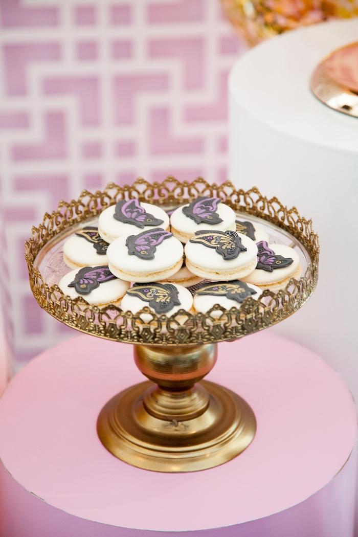 Cookies from a NYE Masquerade Slumber Party on Kara's Party Ideas | KarasPartyIdeas.com (26)
