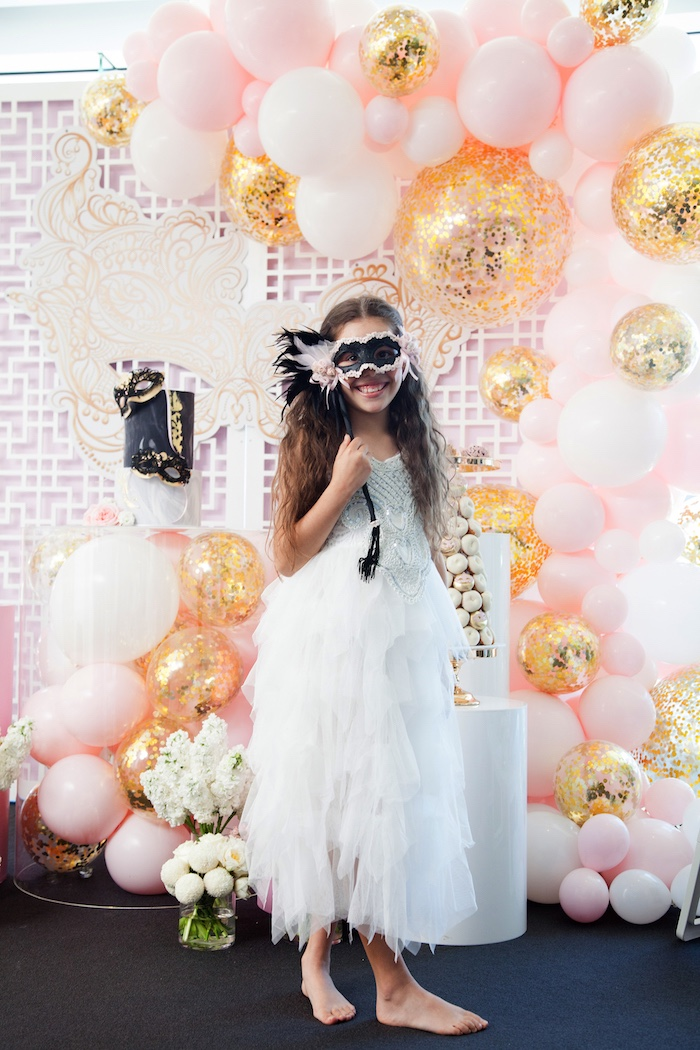 Kara S Party Ideas Nye Masquerade Slumber Party Kara S Party Ideas