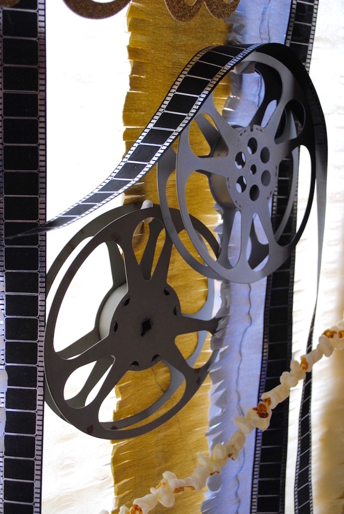 Film reels from a NYE Movie Night on Kara's Party Ideas | KarasPartyIdeas.com