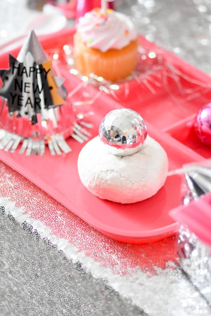 New Year's Eve Disco Ball Party! FREE NYE Teen Printables! By Kara's Party Ideas | Kara Allen | KarasPartyIdeas.com