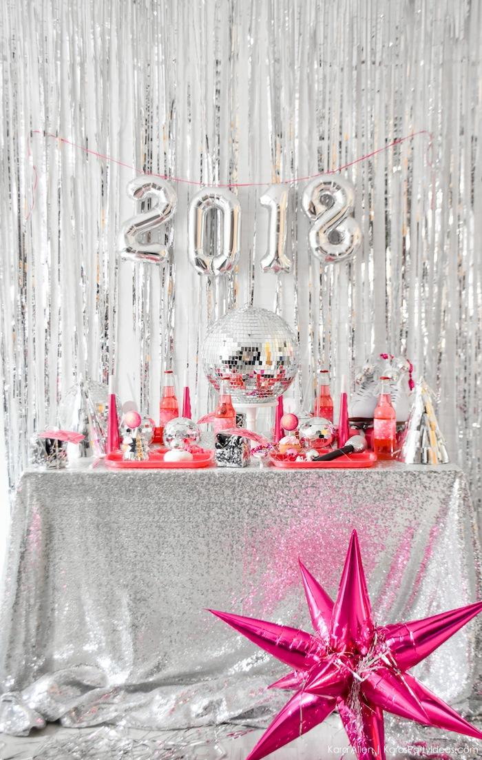 Kara's Party Ideas New Year's Eve Disco Party! FREE NYE ...