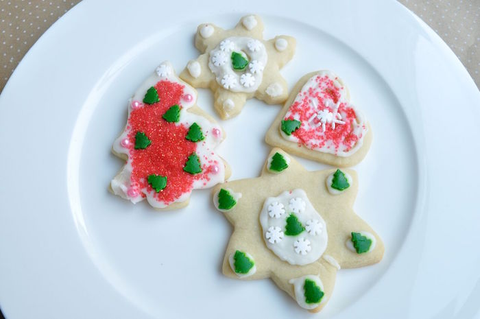 Decorated sugar cookies from a Nordic Winter Cookie Decorating Party on Kara's Party Ideas | KarasPartyIdeas.com (34)
