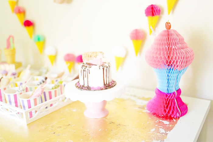 Outdoor Ice Cream Bar Party on Kara's Party Ideas | KarasPartyIdeas.com (24)