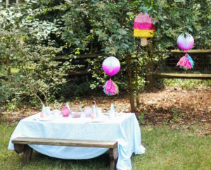 Popsicle guest table from an Outdoor Ice Cream Bar Party on Kara's Party Ideas   KarasPartyIdeas.com (17)