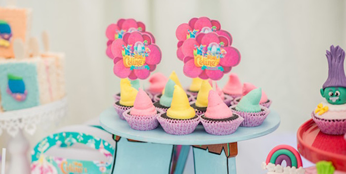Rainbow Trolls Birthday Party on Kara's Party Ideas | KarasPartyIdeas.com (3)