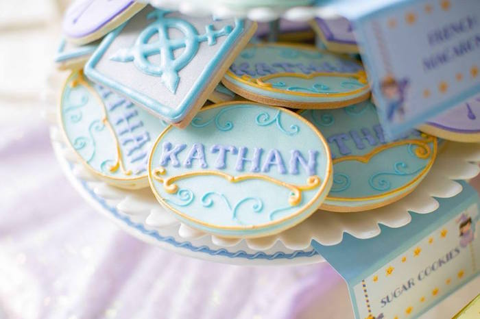 Cookies from a Royal Prince Birthday Party on Kara's Party Ideas | KarasPartyIdeas.com (14)