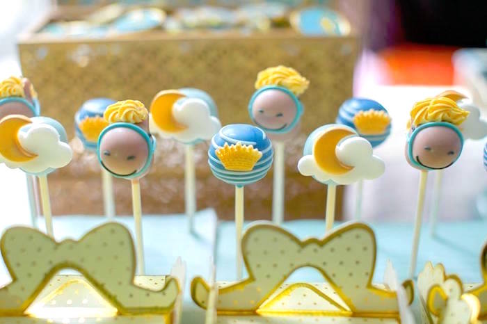 Cake pops from a Royal Prince Birthday Party on Kara's Party Ideas | KarasPartyIdeas.com (11)