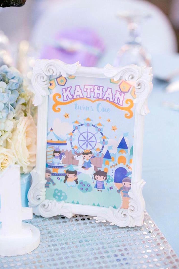Signage from a Royal Prince Birthday Party on Kara's Party Ideas | KarasPartyIdeas.com (25)