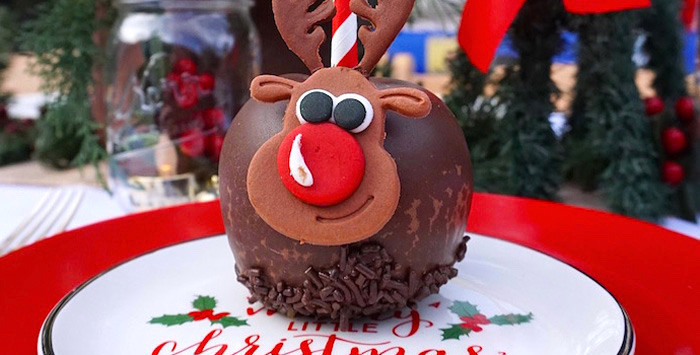 Rudolph + Christmas Inspired Birthday Party on Kara's Party Ideas | KarasPartyIdeas.com (1)
