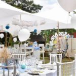 Rustic Chic Baptism Party on Kara's Party Ideas | KarasPartyIdeas.com (1)