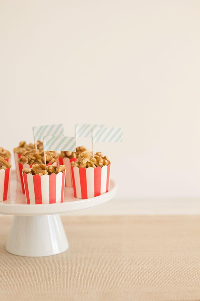 Snack cups from a Santa's Sweet Table on Kara's Party Ideas   KarasPartyIdeas.com (11)