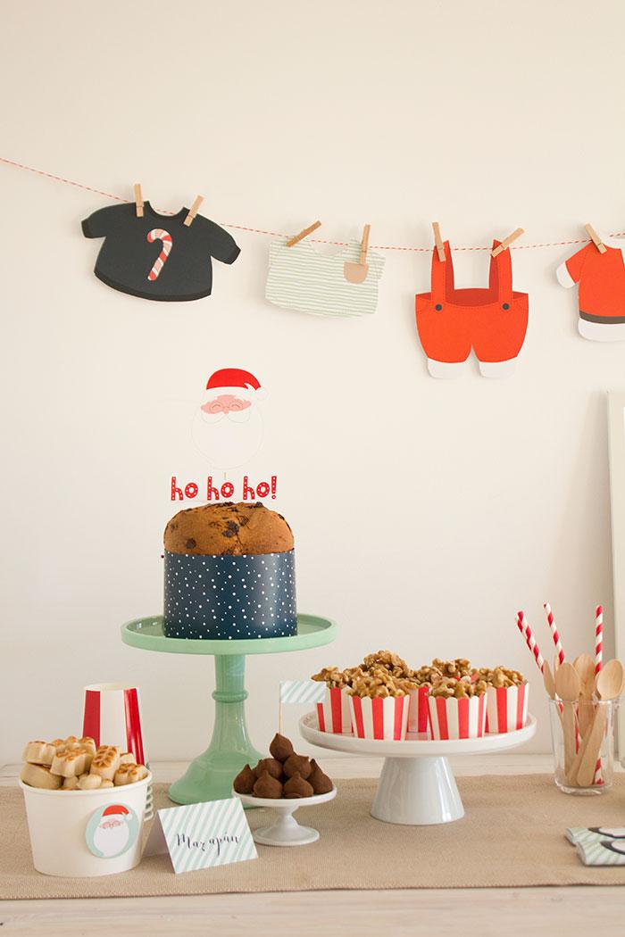 Santa's Sweet Table on Kara's Party Ideas   KarasPartyIdeas.com (10)
