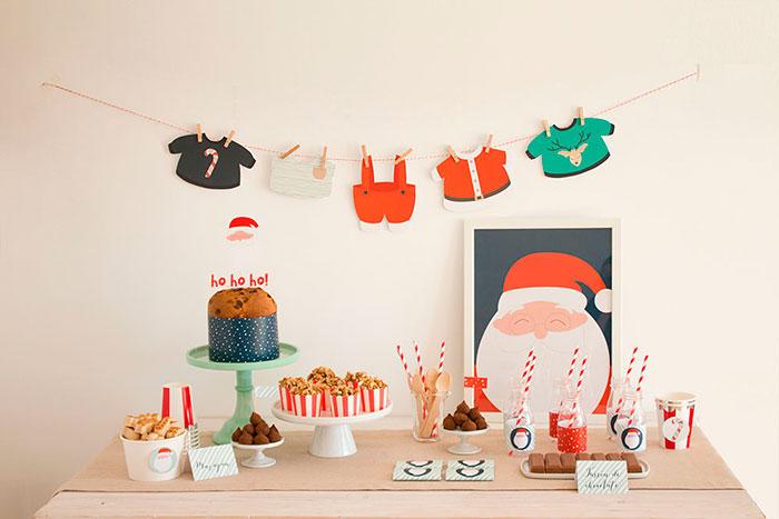 Santa's Sweet Table on Kara's Party Ideas | KarasPartyIdeas.com (9)