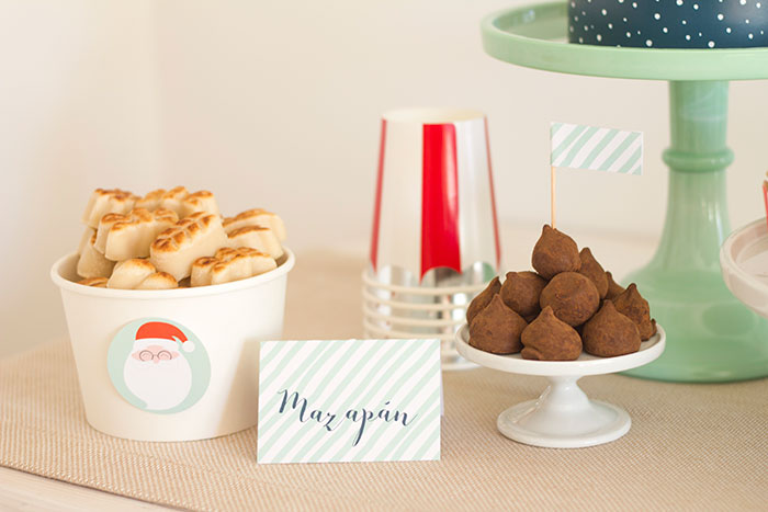Marzipan from a Santa's Sweet Table on Kara's Party Ideas   KarasPartyIdeas.com (7)
