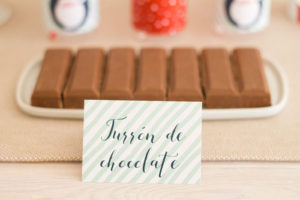 Sweet label from a Santa's Sweet Table on Kara's Party Ideas | KarasPartyIdeas.com (20)