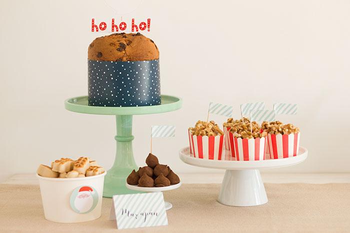 Sweets from a Santa's Sweet Table on Kara's Party Ideas   KarasPartyIdeas.com (16)