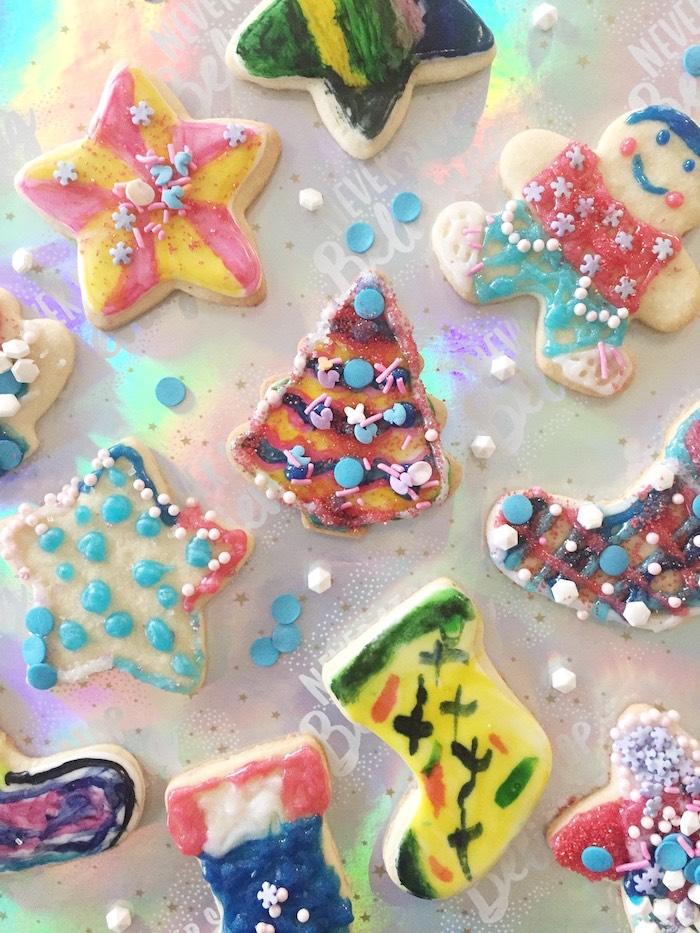 Cookies from a Shopkins Winter Wonderland Birthday Party on Kara's Party Ideas | KarasPartyIdeas.com (13)