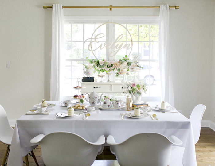 Sweet Autumn 100th Day Tea Party on Kara's Party Ideas | KarasPartyIdeas.com (6)