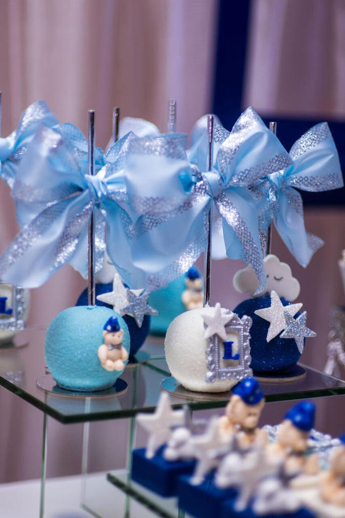 Cake pops from a Twinkle Twinkle Little Star Baby Shower on Kara's Party Ideas | KarasPartyIdeas.com (12)