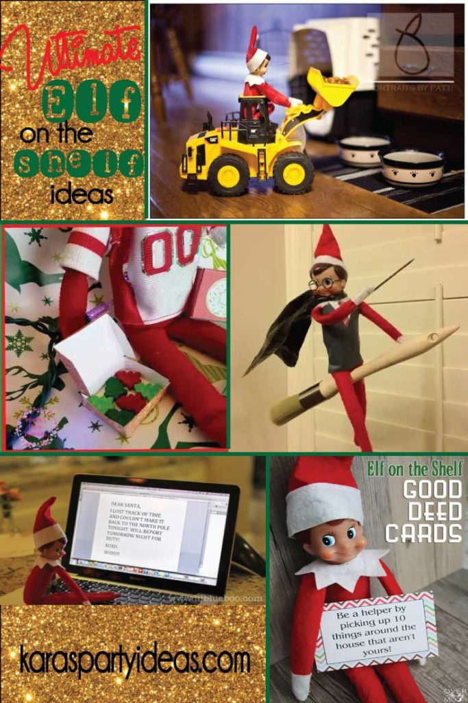 The Ultimate Guide to Elf on the Shelf Ideas via Kara's Party Ideas