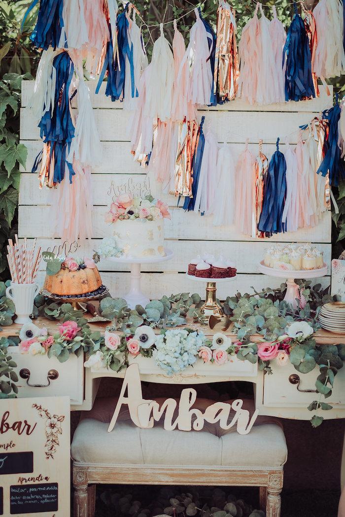 Whimsical Vintage 1st Birthday Party on Kara's Party Ideas | KarasPartyIdeas.com (13)