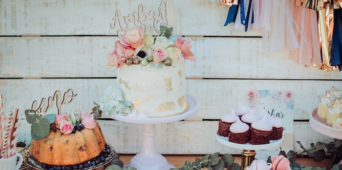 Whimsical Vintage 1st Birthday Party on Kara's Party Ideas | KarasPartyIdeas.com (2)