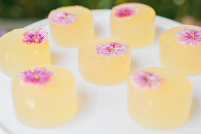 Flower sweets from a Whimsical Watercolor Elephant Birthday Party on Kara's Party Ideas | KarasPartyIdeas.com (9)