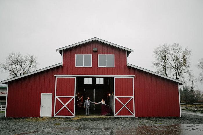 Winter Barn Wedding on Kara's Party Ideas | KarasPartyIdeas.com (31)