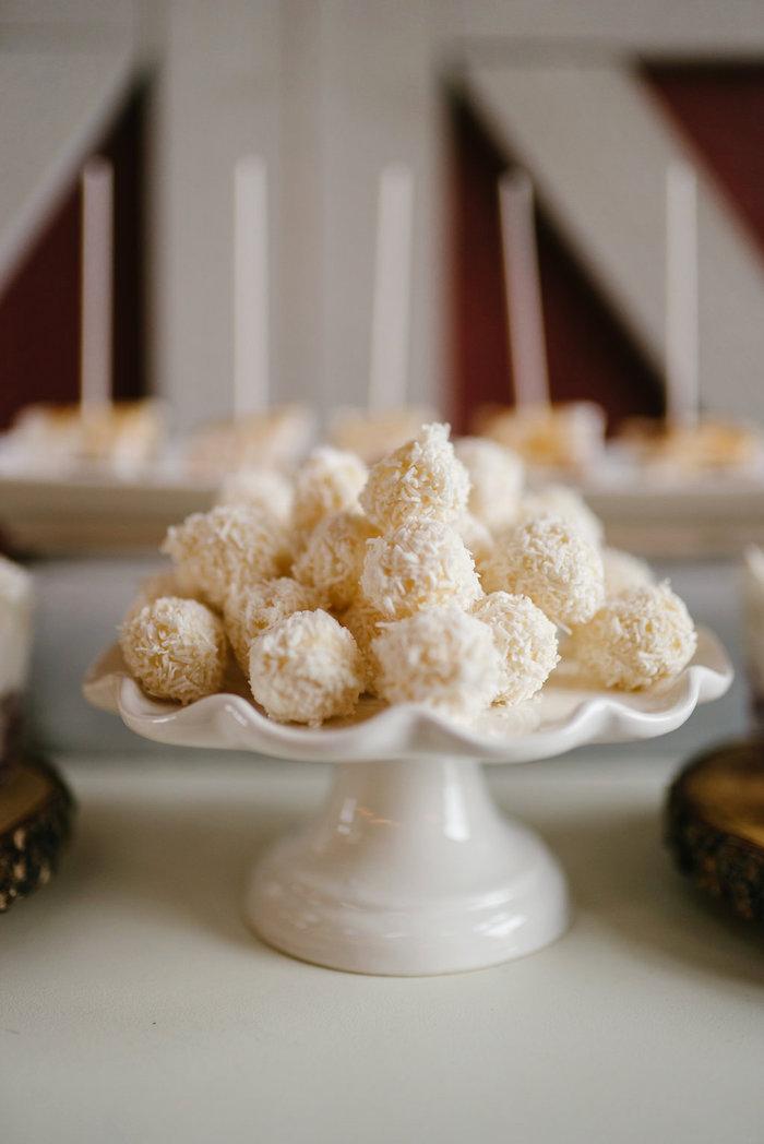 Truffles from a Winter Barn Wedding on Kara's Party Ideas | KarasPartyIdeas.com (41)