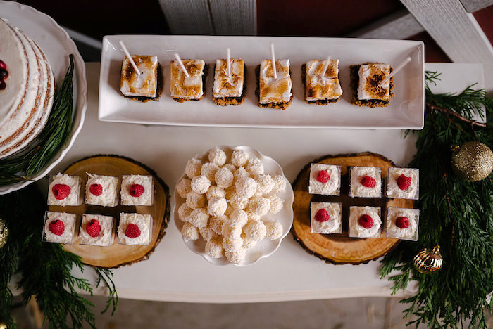 Desserts from a Winter Barn Wedding on Kara's Party Ideas | KarasPartyIdeas.com (40)
