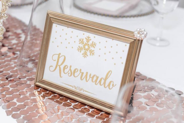 Table signage from a Winter Wonderland Baby Shower on Kara's Party Ideas | KarasPartyIdeas.com (17)