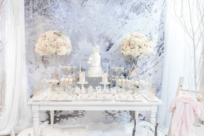Winter Wonderland Baby Shower on Kara's Party Ideas | KarasPartyIdeas.com (8)